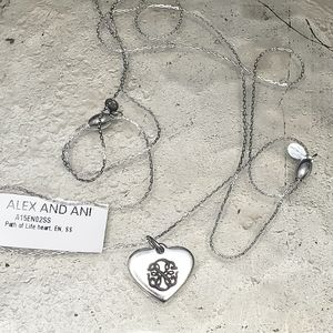 Alex & Ani NWT Silver Path of Life Necklace